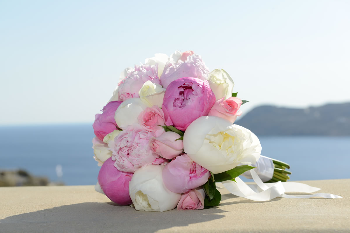 Flowers Decoration Mykonos Wedding Package 09