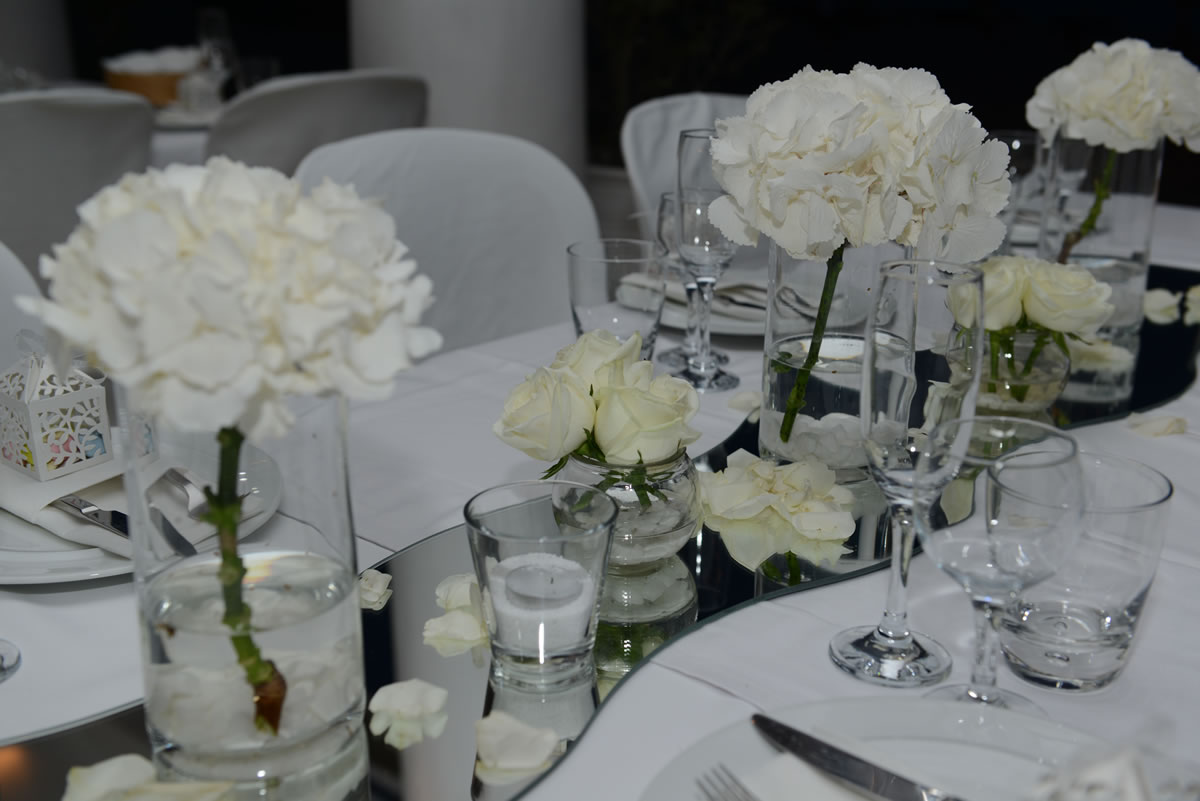 Flowers Decoration Mykonos Wedding Package 15
