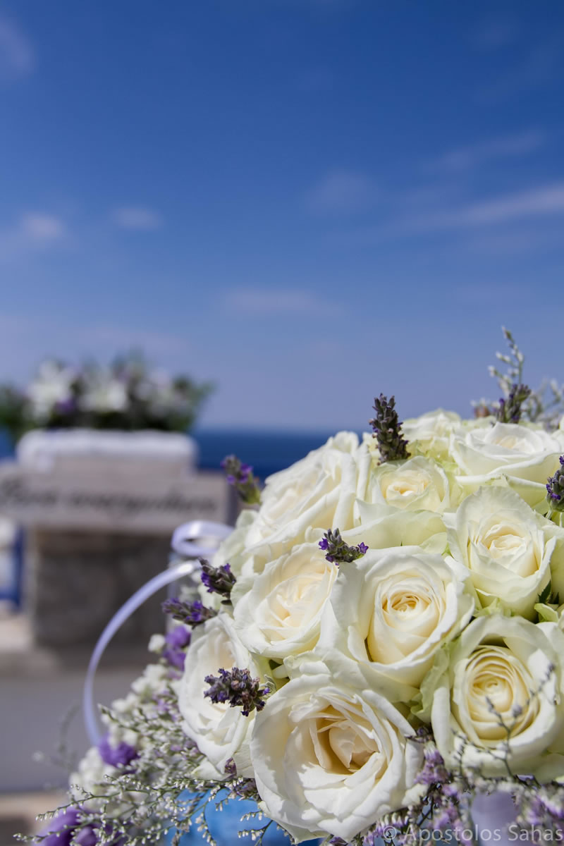 Flowers Decoration Mykonos Wedding Package 27